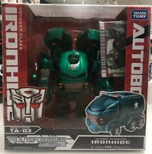 Takara TOMY Transformers Animated TA 03 Ironhide Voyager Class New Misb