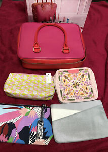 Bundles Of Makeup Beauty Cosmetics Zip Travel Bags Purse: Estée Lauder, Clinque