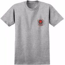 Spitfire Wheels Keeping The Underground Lit Pocket Skateboard T Shirt Ash Xl