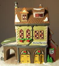 Dept 56 DICKENS VILLAGE HATHER HARNESS Porcelain Building Christmas Decor 1994