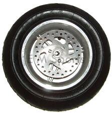 Mini Pocket Bike Parts Front Tire Wheel Rim 47cc 49cc Includes Brake Disk