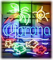 Corona Beer Neon Image Refrigerator / Tool Box  Magnet   THESE ARE NOT SIGNS