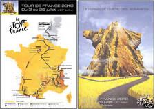 TOUR DE FRANCE 2010 OFFICIAL POSTERS LANCE ARMSTRONG