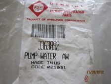 Whirlpool Direct Drive Washer Pump 3363892 HUGE BANK SALE LIST $ 44.95
