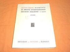 g. morelli elementi di diritto internazionale privato italiano  1976