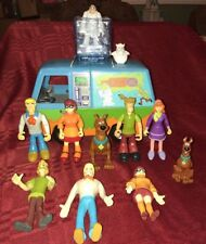 SCOOBY DOO THE MYSTERY MACHINE GHOST PATROL VAN W/ CHUNKY & Bendable FIGURES