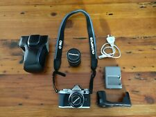 Olympus OMD EM-5 Mark II w/ 2x Lenses and super low shutter count!