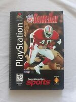 NFL GameDay (Sony PlayStation 1, 1996) PS1 Long Box