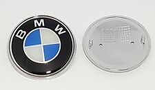 BMW E46 E60 E61 E81 E82 E87 E90 E91 X5 BONNET BOOT BADGE FRONT LOGO EMBLEM 82 mm