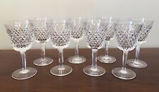 Waterford Crystal ALANA CLARET Wine Glass ~ Set of 8