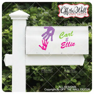 """Disney's """"Up"""" Inspired Vinyl Mailbox Decal X2 for each side of the Mailbox"""