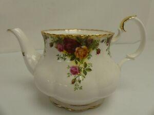 (ref288CN) Royal Albert Old Country Roses Tea Pot No Lid