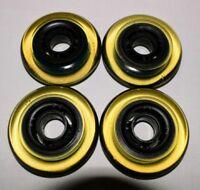 4-Pack - K2 Kinetic Inline Skate Wheels - roller hockey indoor 77.5mm 68a