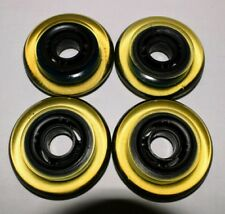 4-Pack - K2 Kinetic Inline Skate Wheels - roller hockey indoor 77.5mm 68a
