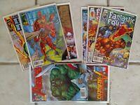 Marvel's Heroes Reborn Lot (Avengers #4&5, Fantastic 4# 1,3 & 6 & Iron Man#1,2&4