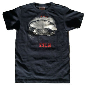 Mexican Zapatista EZLN Subcomandante Marcos T-Shirt - Youth Large - Adult XS