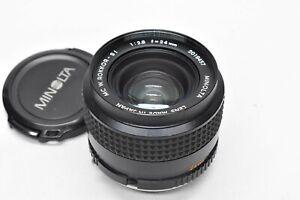 [EXC Minolta MC W.Rokkor-SI 24mm f/2.8 From Japan #2335