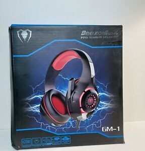 Beexcellent Gaming Headset for PS4 Xbox One PC Mac Controller Gaming Headphone w