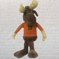 Vintage Bullwinkle Stuffed Plush Toy -TV show - Moose- Rocky and Bullwinkle