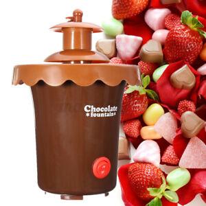 Portable Electric Chocolate Warmer Dip Melting Pot Melter Machine Set 2