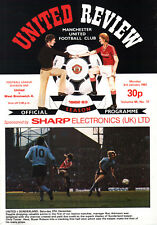 1982/83 Manchester United v West Bromwich Albion, Division 1, PERFECT CONDITION