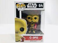 C-3PO Star Wars Force Awakens 64 Funko POP Vinyl Figure NEW Red Arm