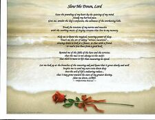 Slow Me Down Lord Poem Personalized Print Name Prayer