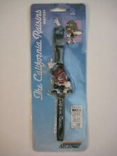 Collectible Licensed 1988 NIP THE CALIFORNIA RAISINS watch Purple blk TV AD LCD
