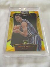 2015-16 Panini Select BKB #04 Frank Kaminsky Charlotte Hornets GOLD PRIZM RC /10