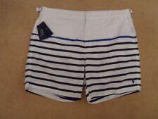 Ralph Lauren Striped Swimwear Men's Swim Shorts