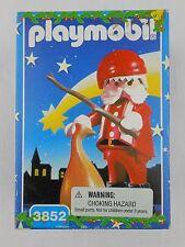 Playmobil 3852 Santa Claus Figure w/ Stick & Bag Christmas Holiday NEW Vintage