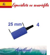 2 oxigenador aireador bomba aire tubo 25 4 4/6 mm bomba acuario piedra difusor