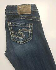 Silver Tuesday Stretch Skinny Womens Jeans Sz 16 1/2 (26 x 31)