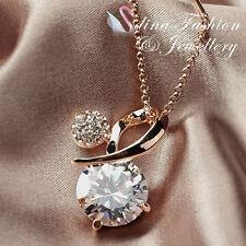 Simulated Diamond Fashion Necklaces & Pendants