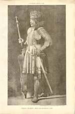 1902 Philip I Of Spain, From The Maximilian Tomb