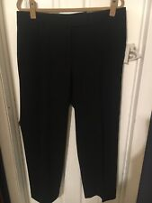 'Womens Size 16 Petite Preswick & Moore Black Flat Front Career Dress Pants! (C)