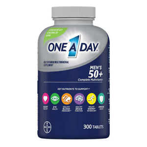 One A Day Men's 50+ Healthy Advantage Multivitamin, 300 Tablets EX12/2022