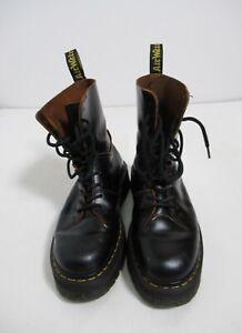 Dr Martens Jadon Decon Boots Vintage Smooth Black Size 10 US M / 11 US L / 9 UK