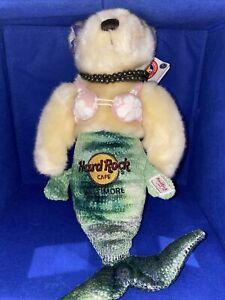 Hard Rock Cafe Baltimore 2008 Mermaid Herrington Teddy Bear Plush #384 With Tag