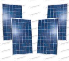 Set 4 Pannelli Solari Fotovoltaici 270W Extra-Europeo 30V tot. 1080W Casa Baita