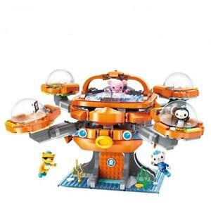 New 698Pcs Octonauts Octopus Octopod Playset & Barnacles Building Blocks Toys