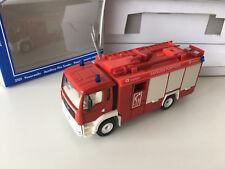 Siku 2101 MAN Feuerwehr Rüstwagen Auslandsmodell Frankreich mit OVP