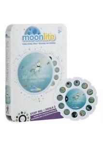 NEW Moonlite Story Reel Not Quite Narwhal NIB Baby Storybook Disc Sealed