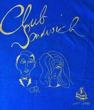 Paul McCartney Club Sandwich Fun Club 1977-1998 Issue T-shirt