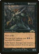 Pit Spawn Exodus HEAVILY PLD Black Rare MAGIC THE GATHERING MTG CARD ABUGames