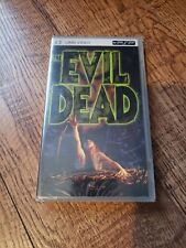 The Evil Dead UMD PSP Brand New Sealed Rare Bruce Campbell