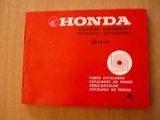 Generator Honda ES / ET 4500 / K1 Teile Katalog Parts catalog list