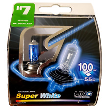 3ER Set H7 100 Watt 5000 K Xenon LOOK OPTIK LAMPEN BIRNEN SUPER WHITE