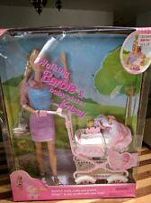 Walking Barbie Doll & New Baby Sister Krissy And Ballet Recital Doll Barbie &Kel