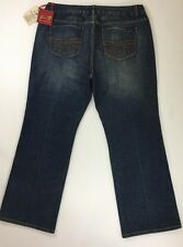 SEVEN 7 FOR ALL MANKIND DISTRESSED WOMENS BOOT CUT JEANS SIZE 24 NWT
